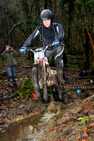 Golden Valley Classic MC Trial: Cowcombe Wood - 27th December 2012