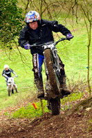 Stroud Valley MCC Minchinhampton Cup Trial: Moorhouse Farm - 22nd April 2012