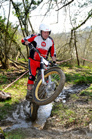 Golden Valley Classic MC Trial: Tinkley Lane - 1st April 2012