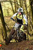 Hawks MC Trial: Colegate Farm - 11th March 2018