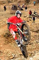 Stroud Valley MC Bill Peters Trial: Breakheart Quarry - 18th February 2018