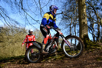 Stroud Valley MC Minchinhampton Cup Trial: Moorhouse Farm - 26th March 2017